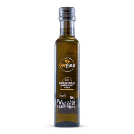Ostropestřec mariánský olej BIO, 250 ml